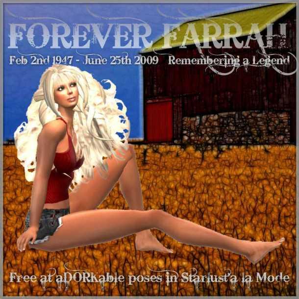 Forever Farrah Poster