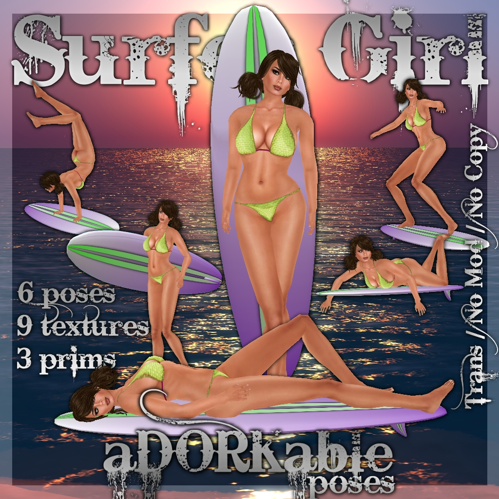 Surfer Girl and Wave Rider are