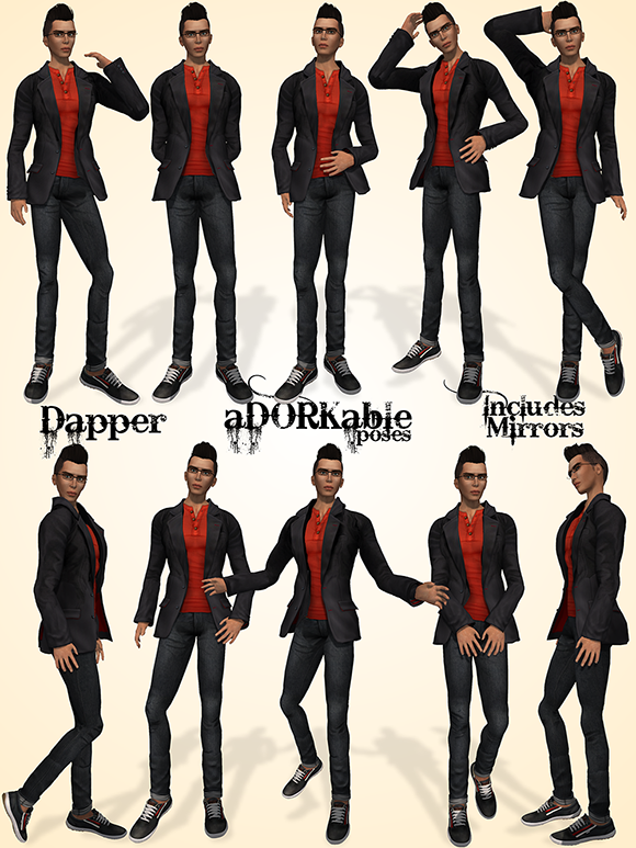 how to pose guys